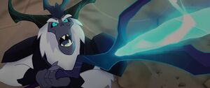 The Storm King laughing maniacally MLPTM