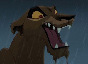 Zira's wicked laugh