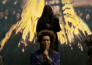 Christabella podczas modlitwy
