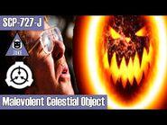SCP-727-J Malevolent Celestial Object - object class keter - Joke scp