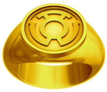 Yellow Lantern Power Rings