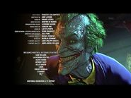 """Batman Arkham Knight · The Joker Singing During Credits """"Look Who's Laughing Now"""""""
