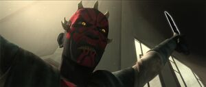 Darth Maul Rising to Power to take control of Death Watch