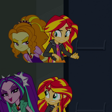 The Dazzlings threateningly intimidates Sunset Shimmer.png