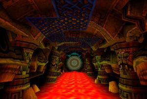 Cortex Island - Lava Temple