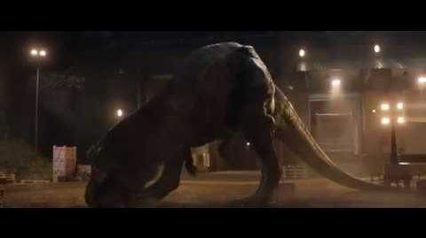 Rexy kills Eli Mills - Jurassic World Fallen Kingdom (HD)