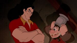 Gaston's Evil Grin