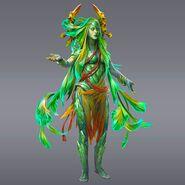 Lady Cetrion the Elder Goddess of Life