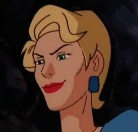Evil grin Simone Lenoir