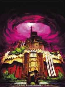Kamoshida's Palace Concept Art P5