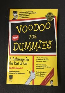 The Voodoo For Dummies Book