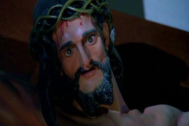 Possessed Christ Statue