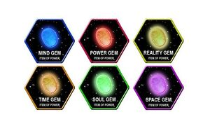 6 Infinity Gems