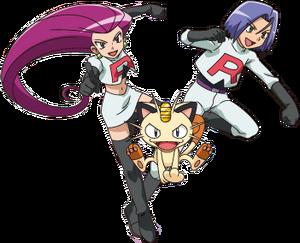 Team Rocket trio XY