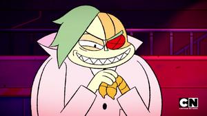 Lord Boxman evil grin
