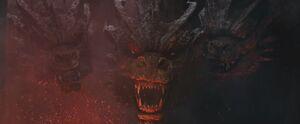 King Ghidorah's Stare