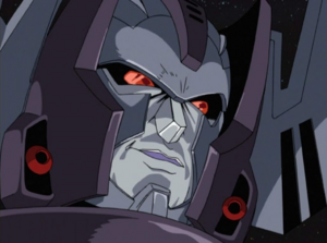 Megatron grin Evilly