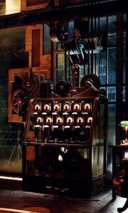 The Basileus Machine's Pendulum Device