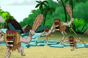 The Tiki Demons laying a siege on Hawaii