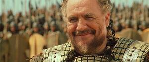 Agamemnon's grin