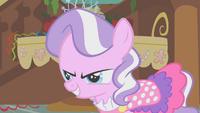 Diamond Tiara malevolent grin