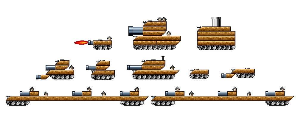 Koopa Tanks
