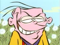 Eddy evil smile