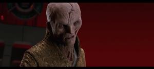 Snoke's breakdown at Kylo Ren