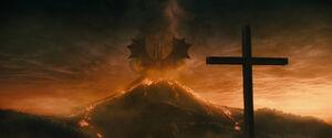 Ghidorah Rising to Power