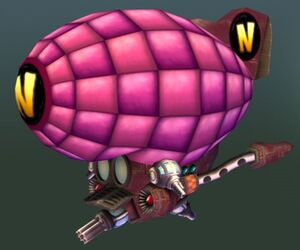 Neo Cortex's Airship