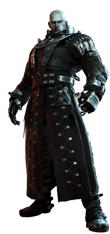 Niezidentyfikowana seria Tyrana (Resident Evil: Potępienie)