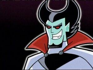 Vlad Plasmius evil grin