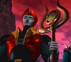 Lord Shinnok's Amulet Staff