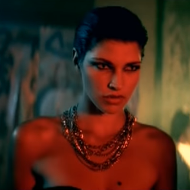 Brunette Vampiress (Straight Through My Heart)