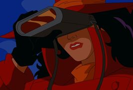 Carmen sandiego with infrared