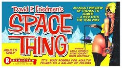 SpaceThing 1968-poster