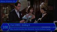 Movie Villainess 101 - Rank -100 - Clue (1985) Ending A - Miss Scarlet, Yvette