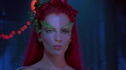 Poison Ivy blows a kiss