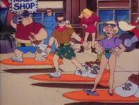 Bambi Police Academy The Animated Series The Hang Ten Gang 04