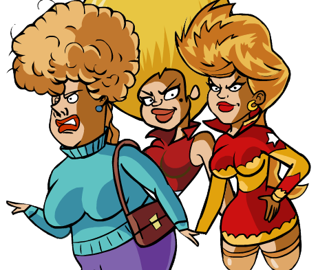 Female Enemies (You Don't Mess With The Zohan)