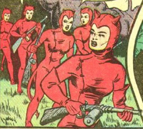 The Devil Ladies (Rulah, Jungle Goddess)