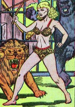 Jackalle (Rulah, Jungle Goddess)