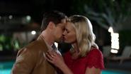 Valerie Gary kiss