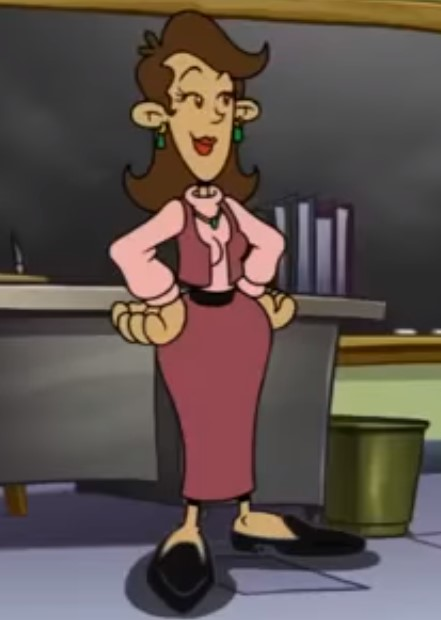 CEDJunior/Mrs. Thompson (Codename: Kids Next Door)