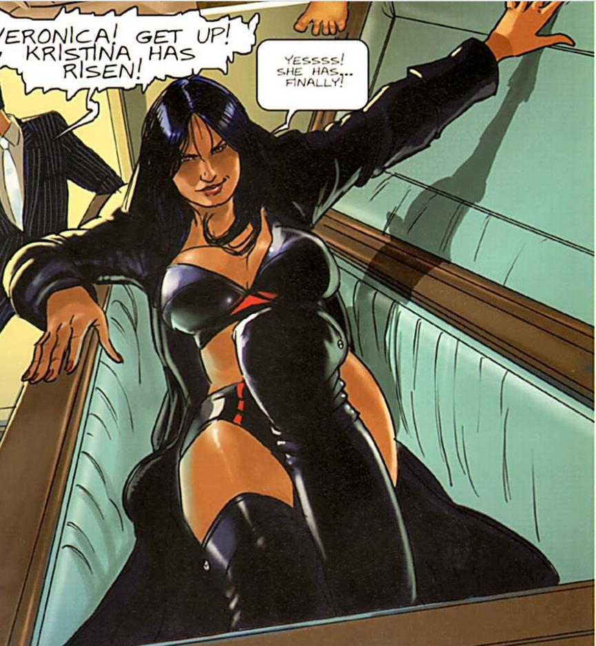 Kristina, Queen of Vampires (Kristina, Queen of Vampires)
