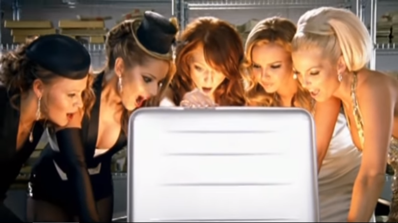 Girls Aloud (I Think We're Alone Now)