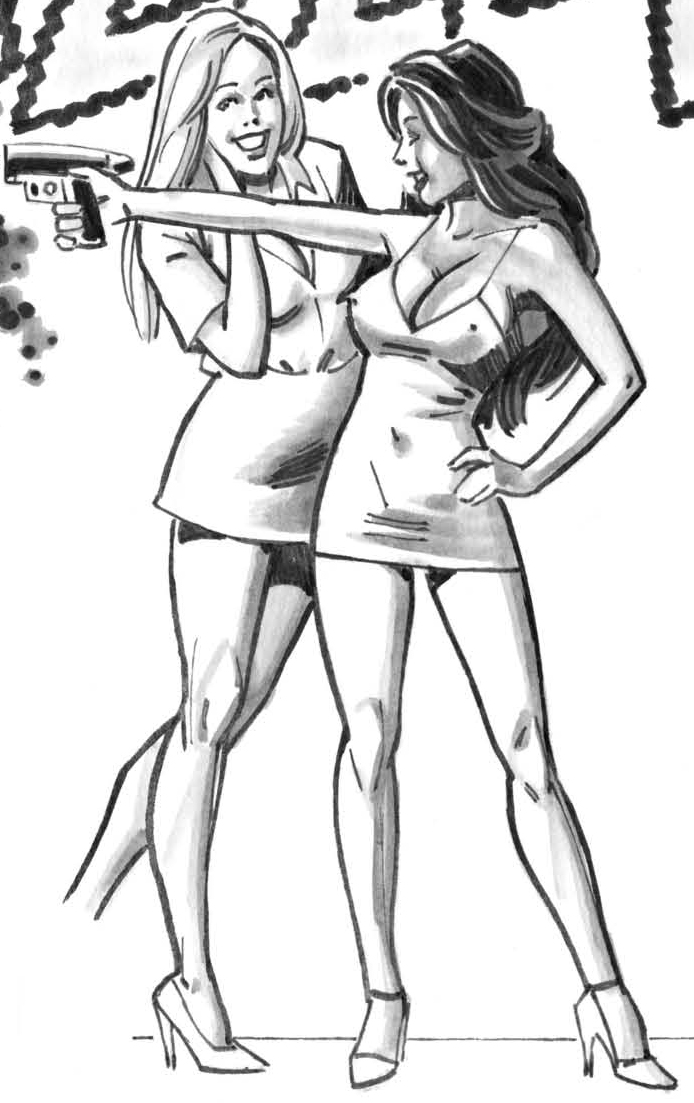 Tess & Kaylee (Superguy vs Teen Terrors)
