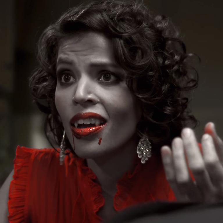 Brunette Vampiress (Vampyre Vodka)