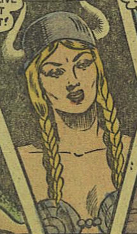 Gurthe the Viking Queen (Rulah, Jungle Goddess)
