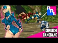 Punisher- the tight leotard kunoichi atacks!!